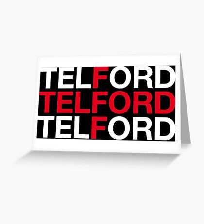 TELFORD Greeting Card