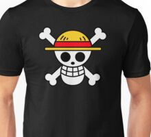 Luffy- Straw Hat Pirates Flag Unisex T-Shirt