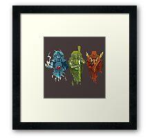 The 3 spirits Framed Print