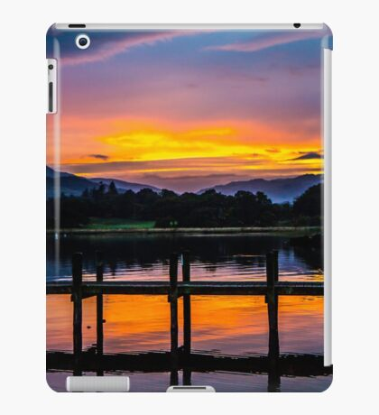 Bowness sundown iPad Case/Skin