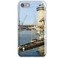 Harbour and National Maritime Museum iPhone Case/Skin
