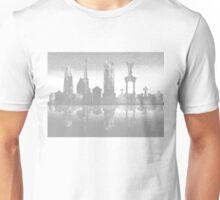 Gravestone City in Grey Unisex T-Shirt