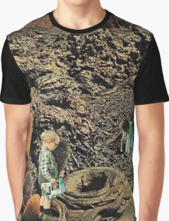 Looking for the lost toys, Vintage Collage Graphic T-Shirt