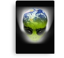 alien earth Canvas Print