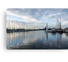 Solo Sail Canvas Print
