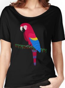 Red Ara Women's Relaxed Fit T-Shirt