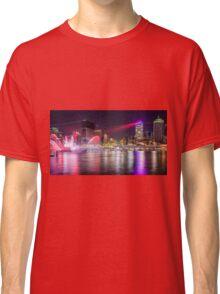 BRIS1.     Brisbane Laser Show. Queensland, Australia. Classic T-Shirt