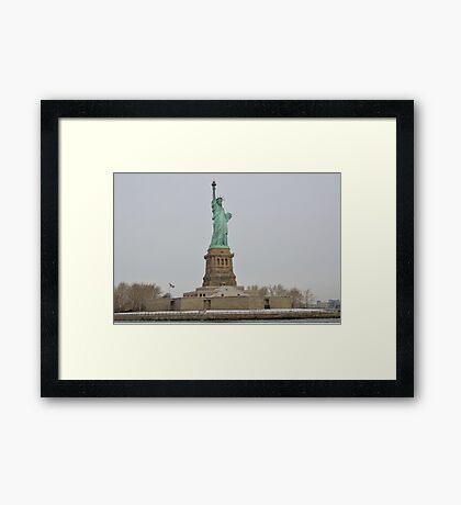 Statue of Liberty - Liberty Island Framed Print