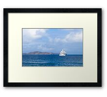 Virgin Gorda Framed Print