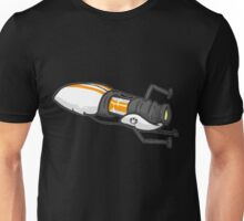Orange portal gun Unisex T-Shirt