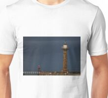 Pier Lighthouse and Beacon, Whitby Unisex T-Shirt