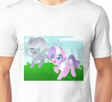 Diamond Tiara and Silver Spoon Unisex T-Shirt