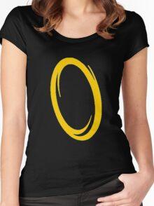 Orange portal Women's Fitted Scoop T-Shirt