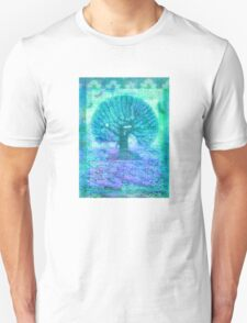 Tree of Life mixed media T-Shirt