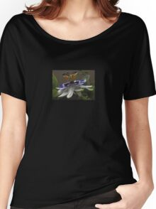 Close Up of Beautiful Passiflora Flower Women's Relaxed Fit T-Shirt
