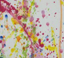 Splash of colour #2 Sticker