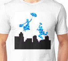 Splodge on White Mary Poppins  Unisex T-Shirt