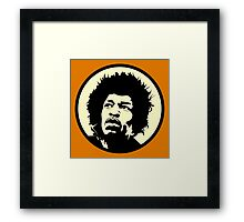 Vinage Hendrix Framed Print