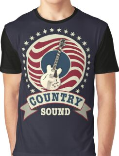 Country Sound Graphic T-Shirt
