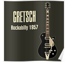 Gretsch Rockabilly 1957 Poster
