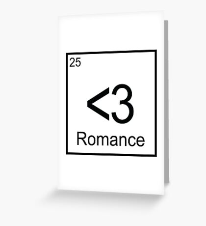 The Element of Romance Greeting Card