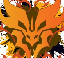 Unleash the Beast - Predacon Grunge Sticker