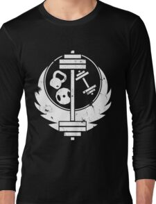 Brotherhood of steel(gym edition, white and aged) Long Sleeve T-Shirt
