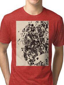 LIVORNO MAP Tri-blend T-Shirt