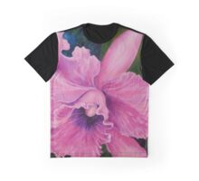 Cattleya Orchid Graphic T-Shirt