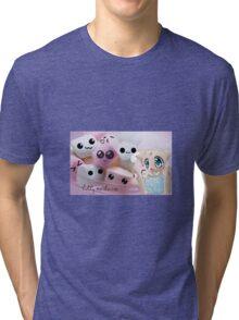 The Power Of Marshmallow Cat Tri-blend T-Shirt