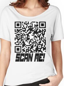 prank scan black fill Women's Relaxed Fit T-Shirt
