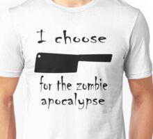 Zombie cleaver Unisex T-Shirt