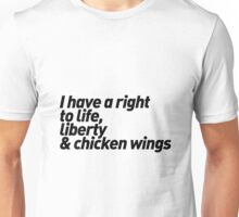 Chicken Wings Unisex T-Shirt