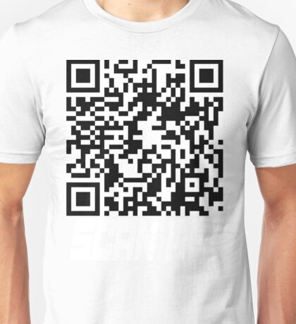 prank scan white fill Unisex T-Shirt