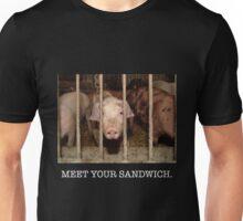 Meet your Sandwich (white) Unisex T-Shirt