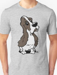 Cartoon Cocker Spaniel dog T-Shirt