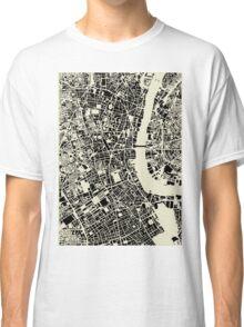 LONDON MAP Classic T-Shirt