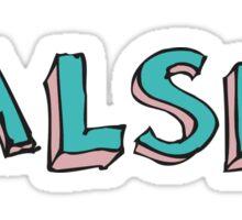 Halsey Sticker