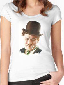 Charlie Chaplin Women's Fitted Scoop T-Shirt