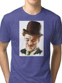 Charlie Chaplin Tri-blend T-Shirt