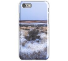 Snow in the Vineyards iPhone Case/Skin