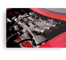Early Corvette 327 w Fuel Injection Metal Print