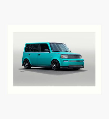 Scion Custom Box Car 2 Art Print