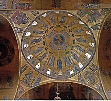 Dome In St. Peter's by phil decocco