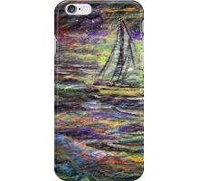 At Sea Once More iPhone Case/Skin