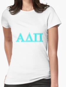 Alpha Delta Pi ADPI  Womens Fitted T-Shirt