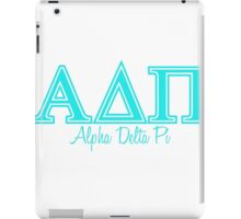 Alpha Delta Pi ADPI sorority greek iPad Case/Skin