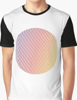 vaporwave sphere Graphic T-Shirt