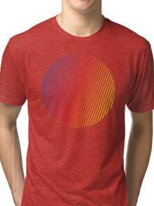 vaporwave sphere Tri-blend T-Shirt