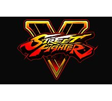 Street Fighter V Photographic Print